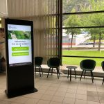 Procon Digital BankVert sorterer effektivt bankkundene ved ankomst