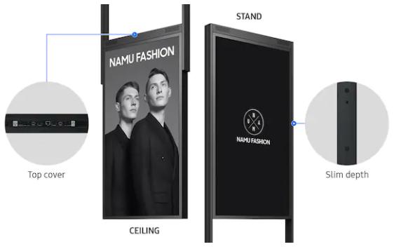 Samsung-55_-Public-Display_mounting-frames-